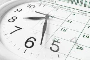 Uhr-Kalender