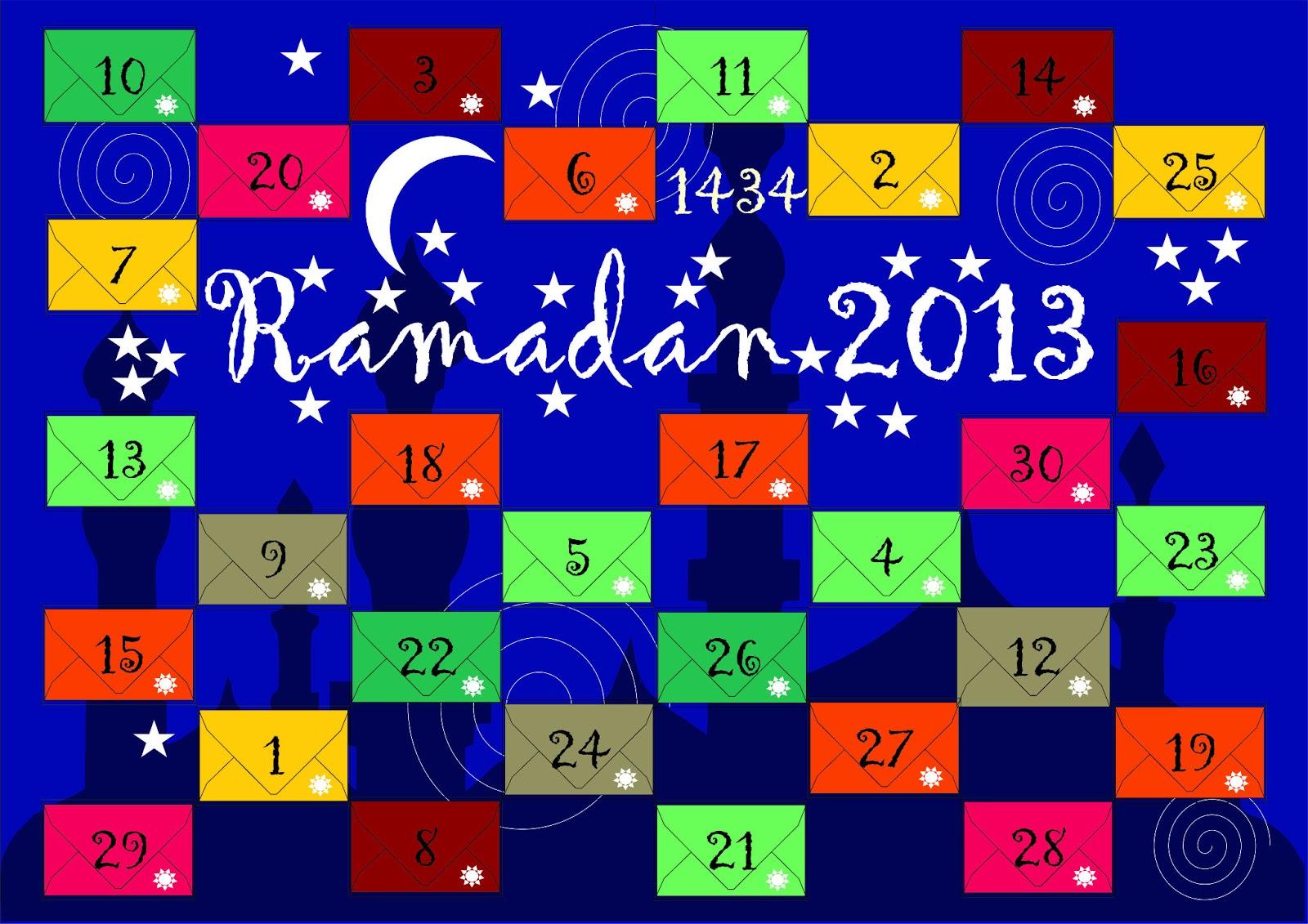 Ramadankalender Basteln Gestalten Und Befüllen Mehr