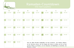 Ramadancountdown