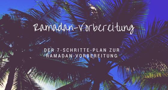 Ramadanvorbereitung Beitragsbild
